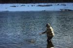 Landing the last fish, a Walleye