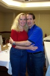 Sheri and Brent, two associates of Major Ed Dames who helped with the remote viewing workshop.