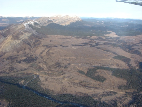 This is a photo from our Aerial telemetry plane of