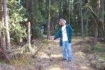 May 5, 2005 - Naturalist Wayne Roberts has been leading toad walks through Wagner Natural Area each spring for 20 years.
