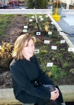 Project Manager Kerry Ross of Stantec Architects got the ball rolling on the green roof project at Calgary Technologies Inc.  The plants are all native to the Calgary region and generally drought resistant.