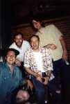 The boys from the Almost Leather Band.  Duke, Jason, Chris and Tom.